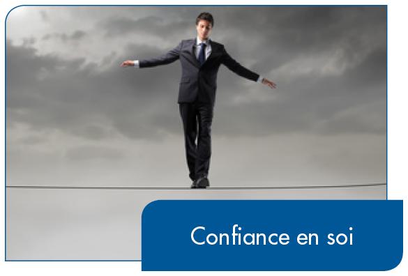La confiance en soi est indispensable pour réussir.